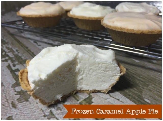Frozen Caramel Apple Pie
