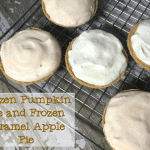 Frozen Pumpkin Pie and Frozen Caramel Apple Pie