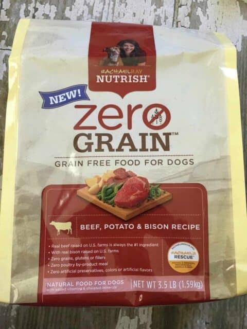 Rachael Ray Nutrish Zero Grain Dog Food Ingredients