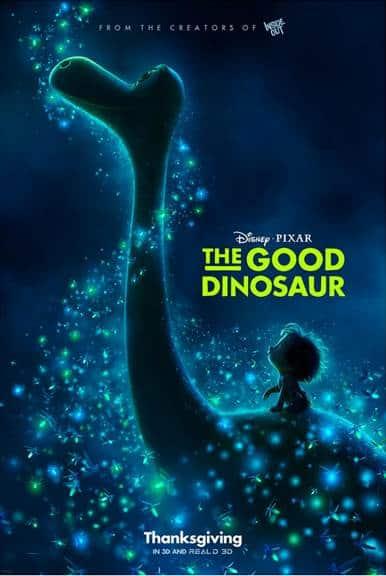Disney Pixar The Good Dinosaur Movie Post