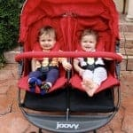 Cruising With Your Duo in the Joovy ScooterX2 Stroller