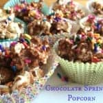 Chocolate Sprinkles Popcorn