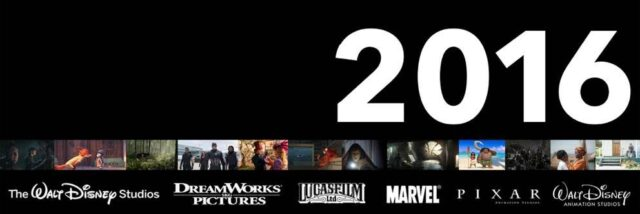 Walt Disney Studios upcoming 2016 movie release schedule