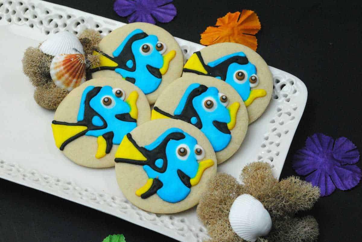 Finding Dory Sugar Cookies