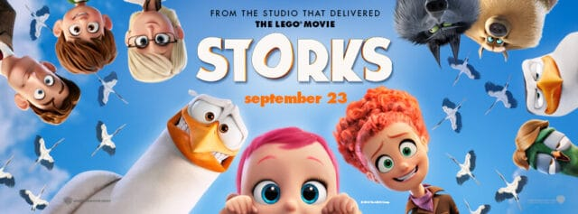 6 themes of STORKS the Movie