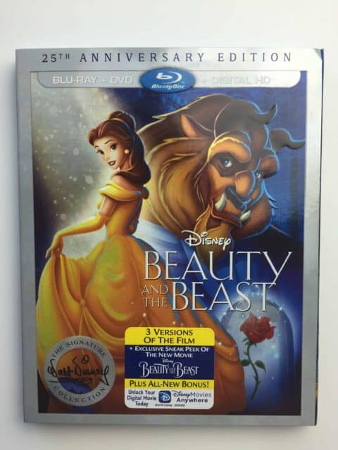 25th Anniversary Edition Disney Beauty and the Beast