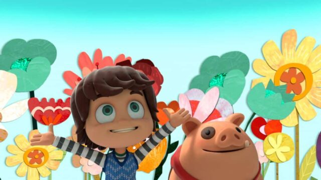 Check out the adorable kids series Kazoops on Netflix now!