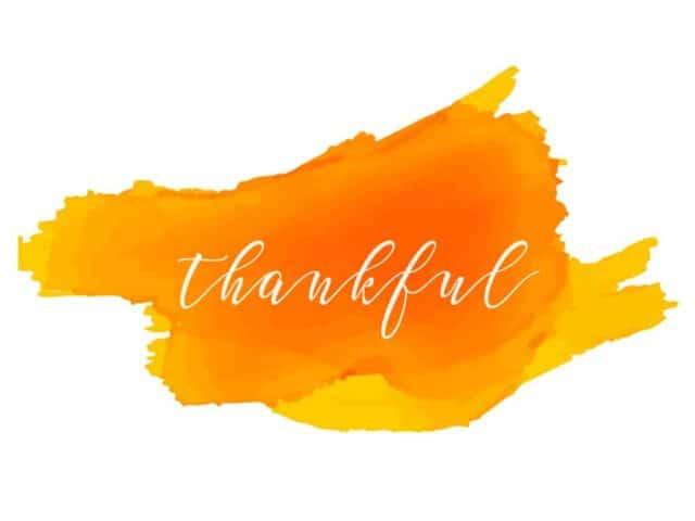 2 Free Fall Printables- Thankful and Gratitude
