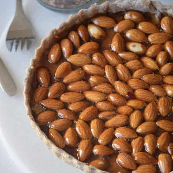 Almond Honey Pie