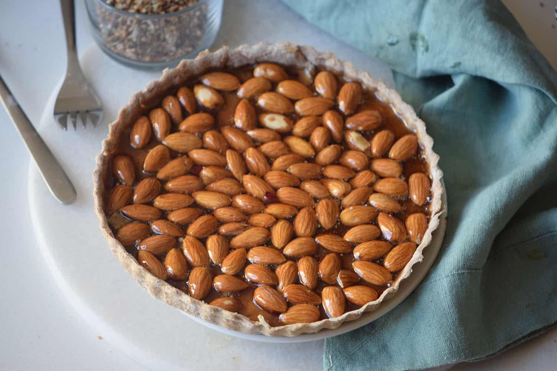 Almond Honey Pie