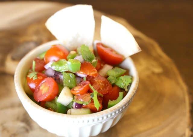 Homemade Garden Salsa