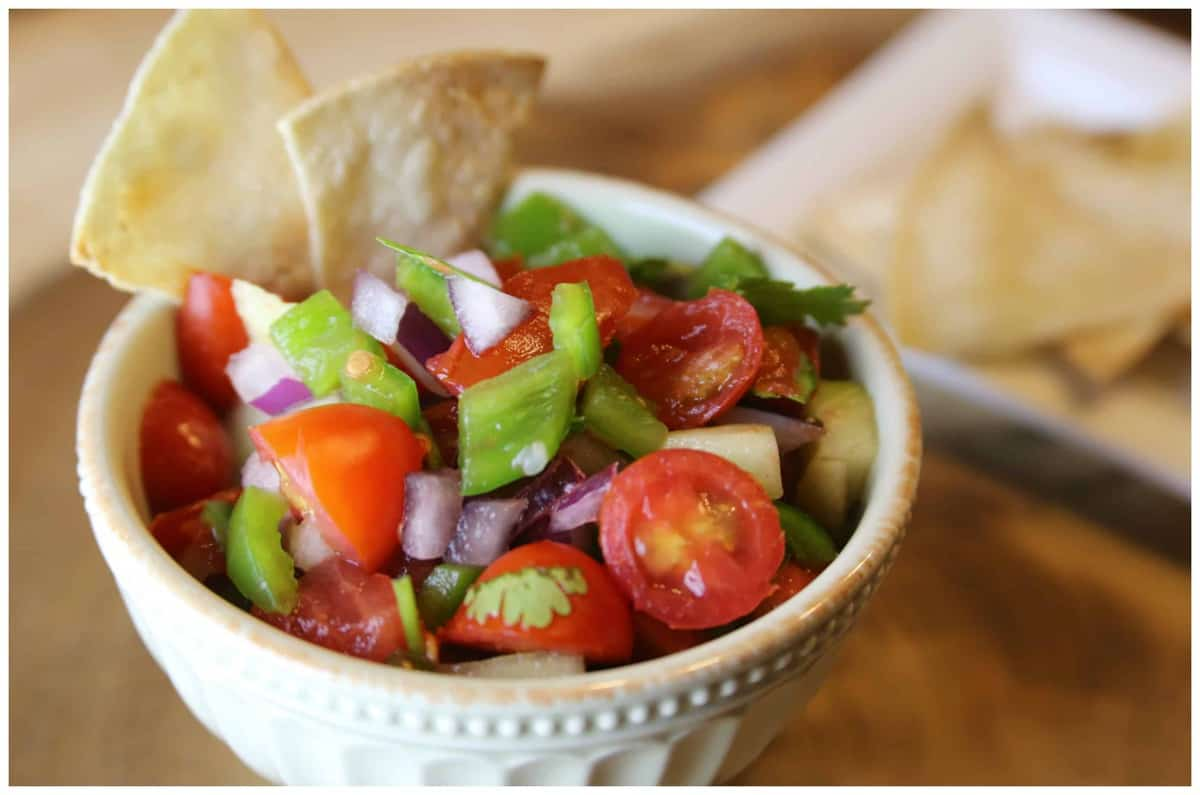 Easy Homemade Garden Salsa