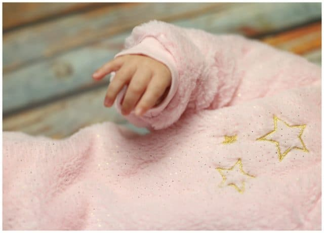Adorable Sparkle Collection Just Born Plush Pram Suit