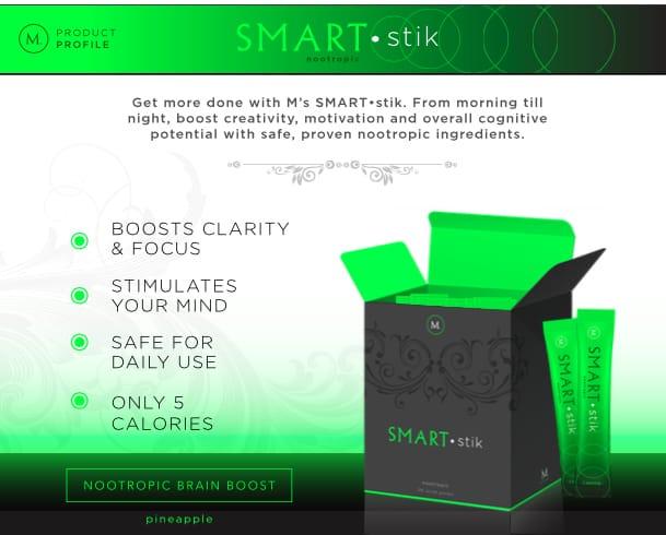 M Network MLM Smart Stik Nootropic