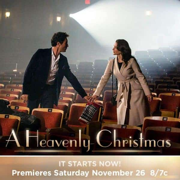 Hallmark Channel's 'A HEAVENLY CHRISTMAS' this Saturday, November 26 at 8pm/7c!