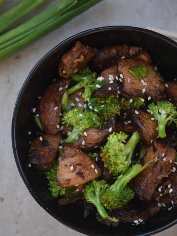 Sesame Broccoli Stir Fry