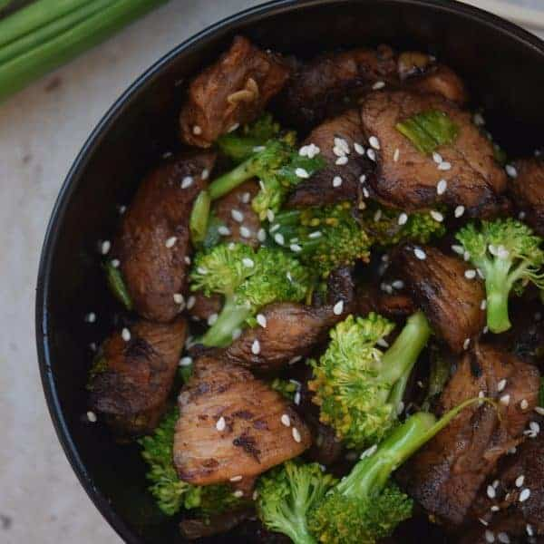 Sesame Chicken Broccoli Stir Fry
