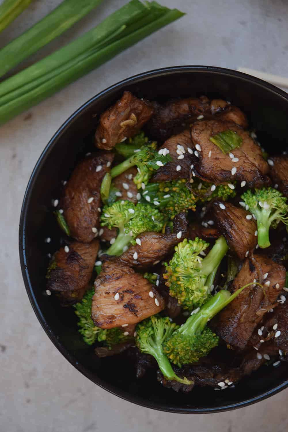 Sesame Broccoli Stir Fry