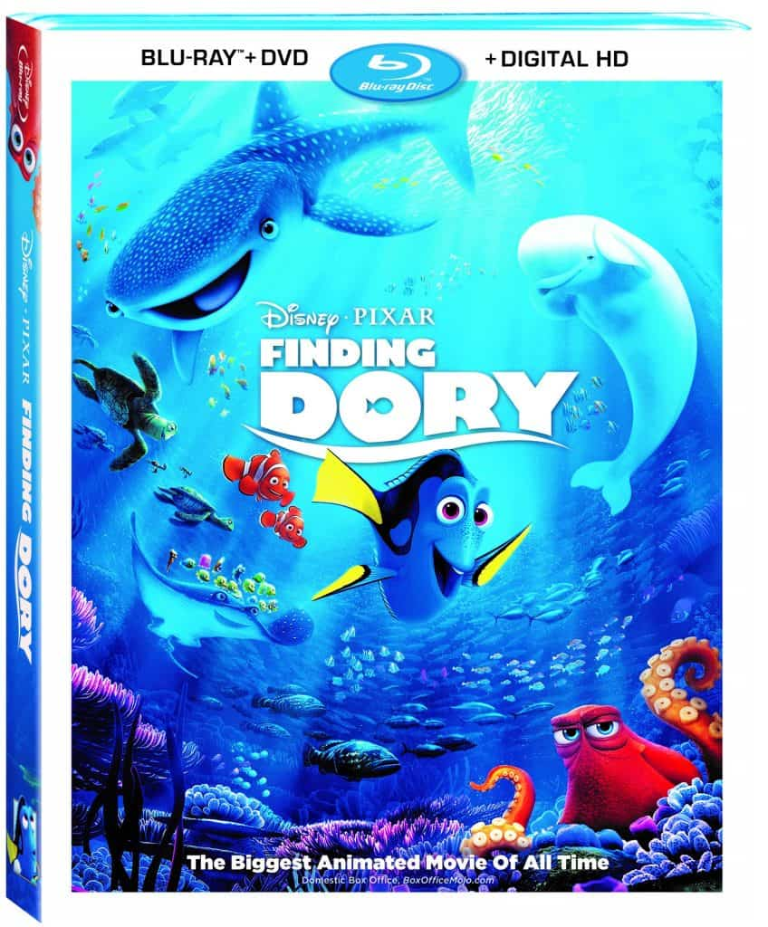 Finding Dory Blu-ray special features