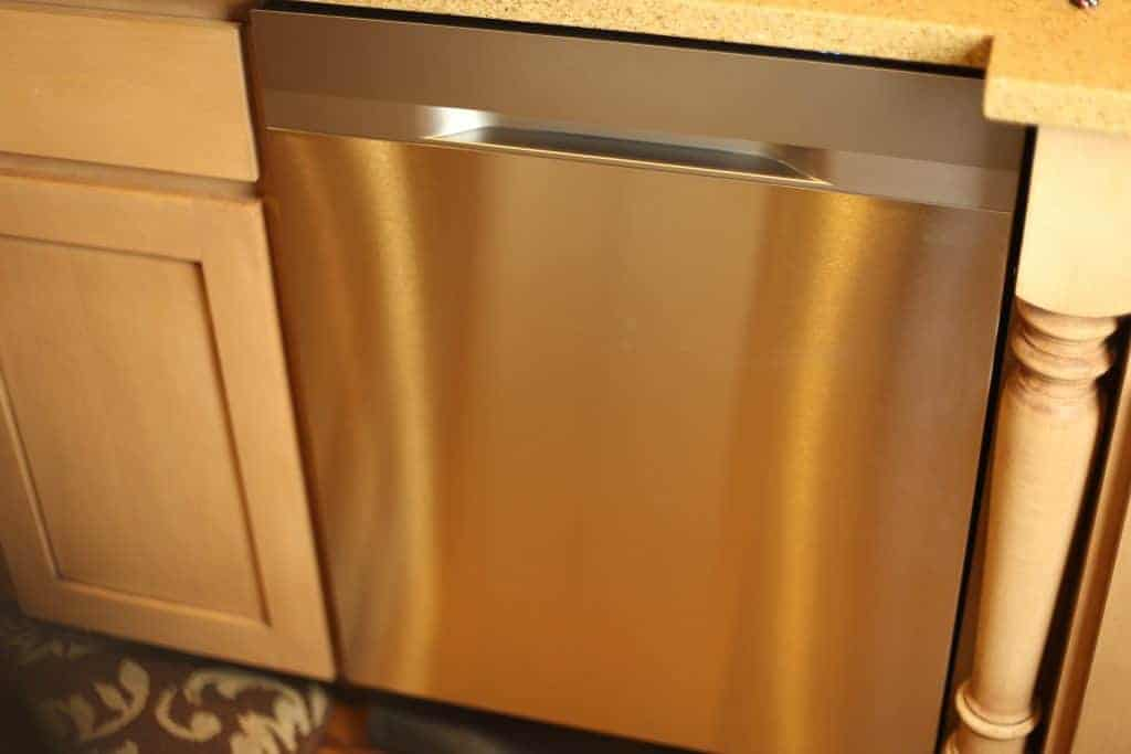 how to clean samsung stainless steel dishwasher