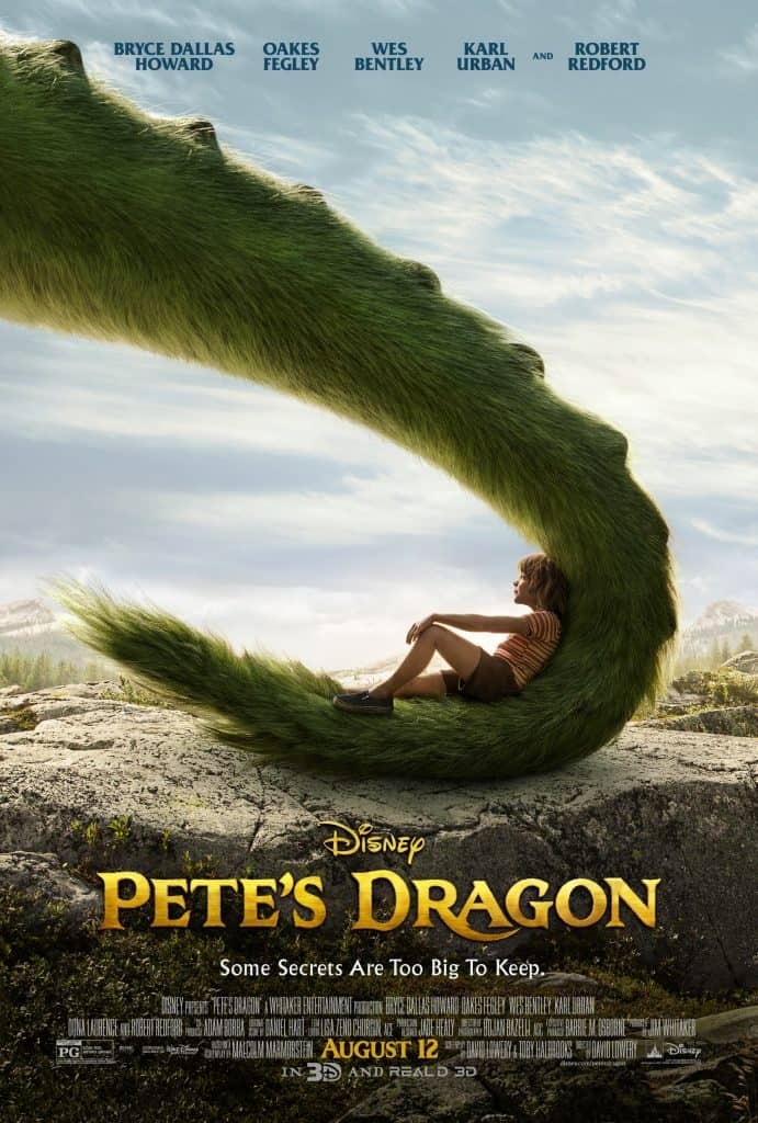 Pete's Dragon Blu-ray movie review