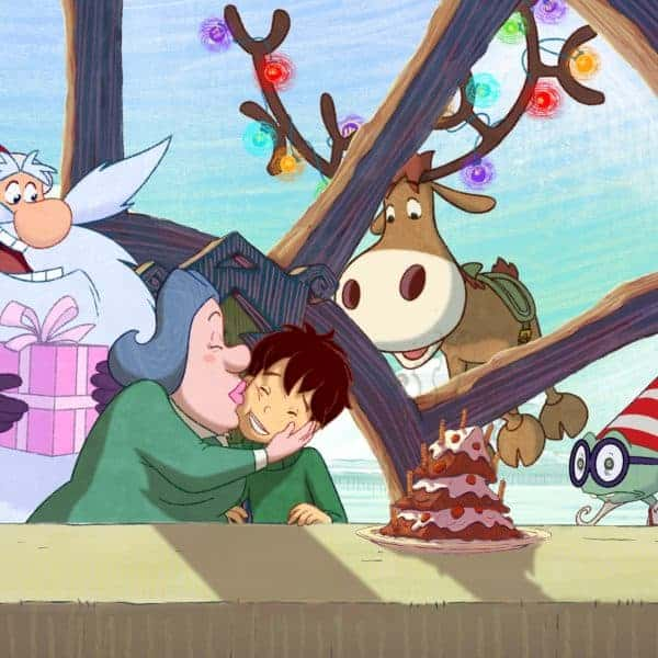 Santa's Apprentice and The Magic Snowflake Holiday DVD Giveaway