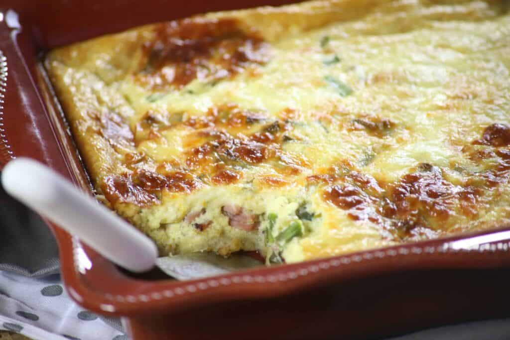 ... uncomplicated it is to make our Quick Ham and Cheese Breakfast Quiche