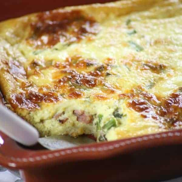 Easy Ham and Cheese Breakfast Quiche