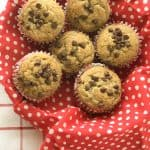 Quick and Easy One Bowl Banana Chocolate Chip Muffins