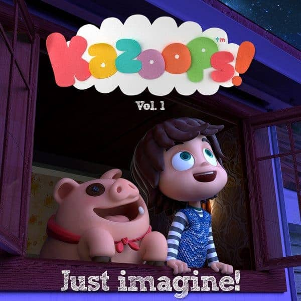 Give the gift of music this Christmas with the Kazoops Just Imagine Album
