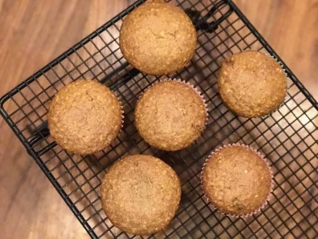 Easy One Bowl Oatmeal Brown Sugar Muffins