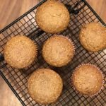 Easy One Bowl Oatmeal Brown Sugar Muffins