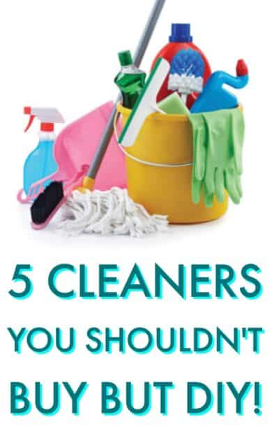 5 cleaners you shouldn't buy but DIY