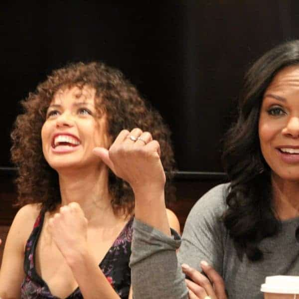 Disney's Beauty and the Beast Interview with Audra McDonald & Gugu Mbatha-Raw