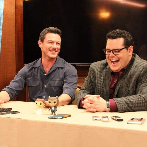 Beauty and the Beast Interview with Josh Gad and Luke Evans