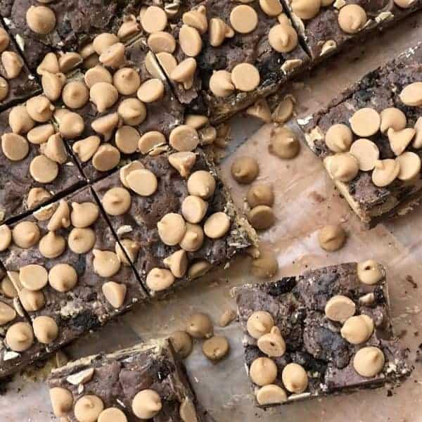 Crazy Good Peanut Butter Oreo Fudge