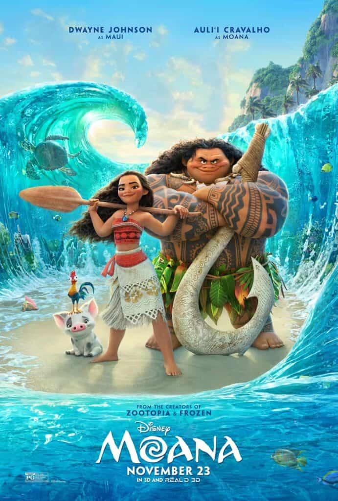 Disneys Moana Is Available On Bluray Now - Disney flyer template