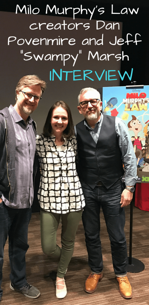 "Interview with Phineas and Ferb and Milo Murphy's Law creators Dan Povenmire and Jeff ""Swampy"" Marsh / Disney Q&A"