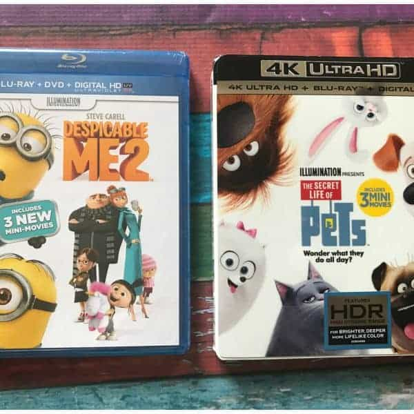 Free Sing Lunchbox with purchase of Select Kids Movie