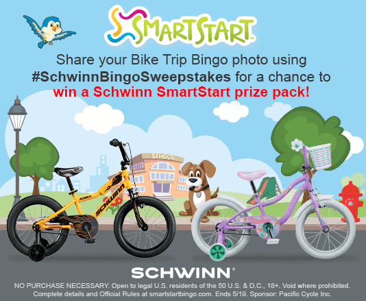 Schwinn SmartStart Bike Trip Bingo