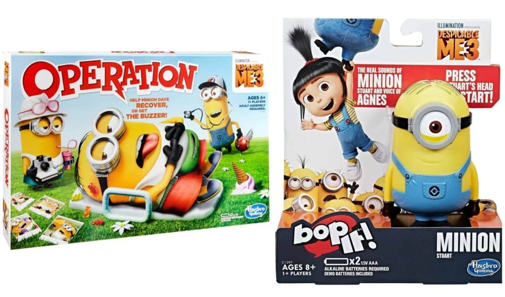 Despicable Me 3 Hasbro Game Giveaway