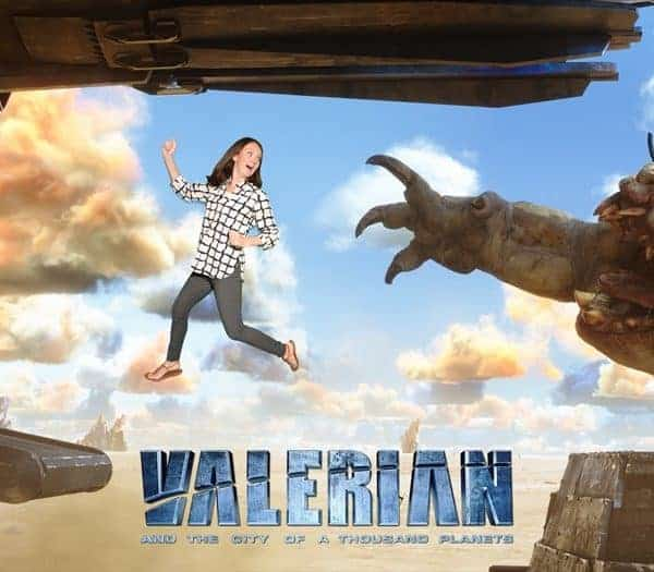 Valerian and the City of a Thousand Planets Press Junket