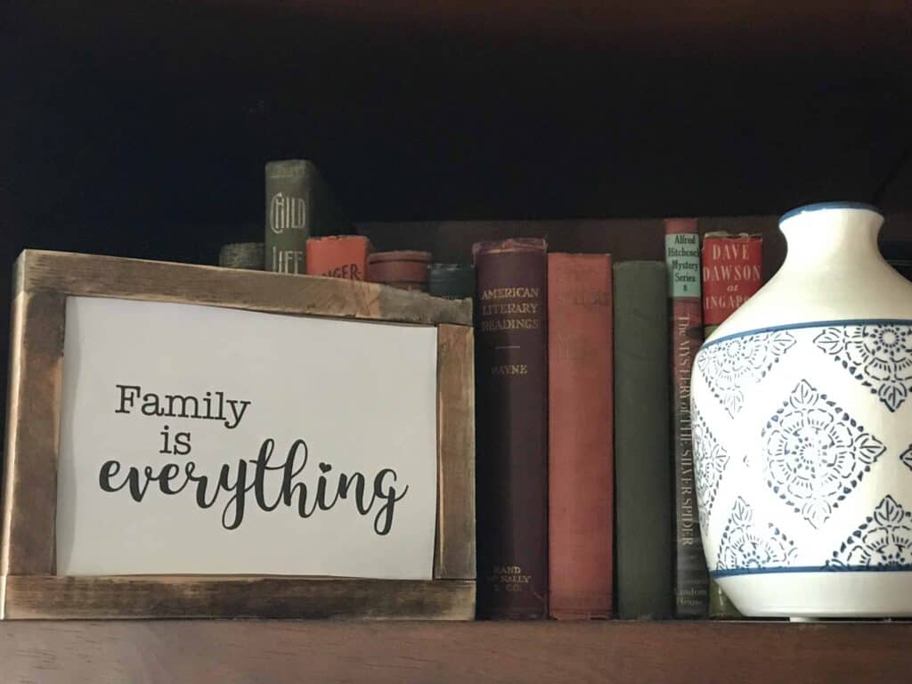 Family is Everything Free Printable