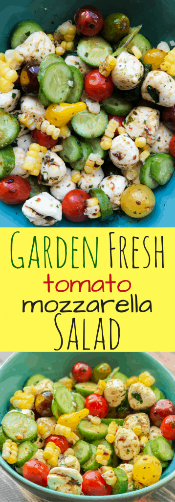 Garden Fresh Mozzarella Salad