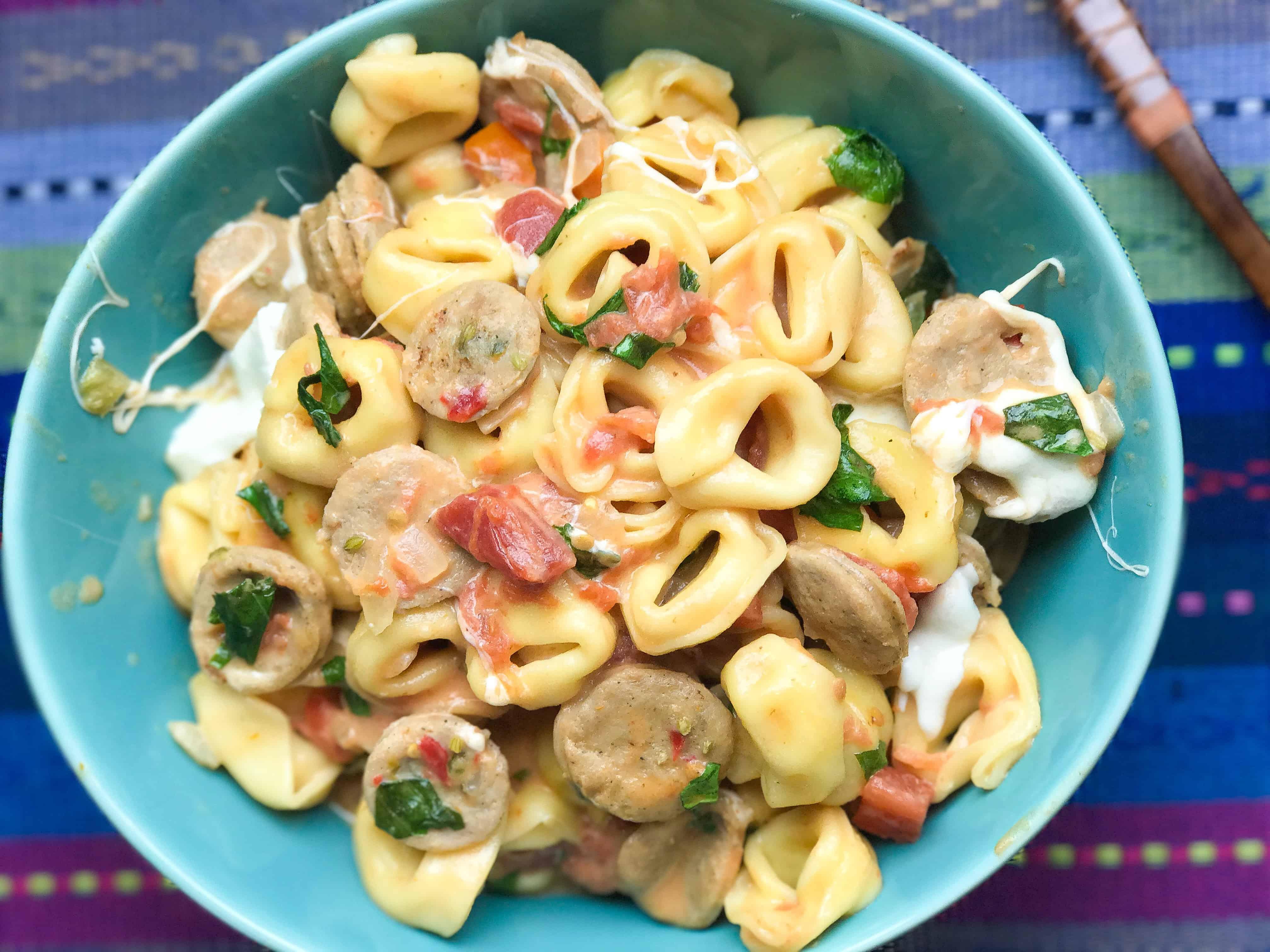 Tomato Mozzarella Tortellini