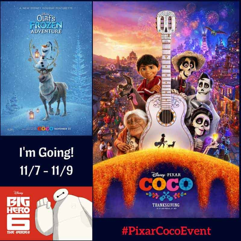 Disney Pixar Coco Red Carpet Event