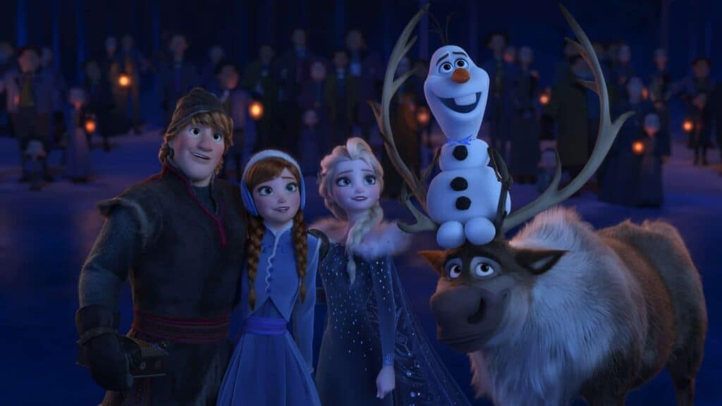 Olaf and Frozen