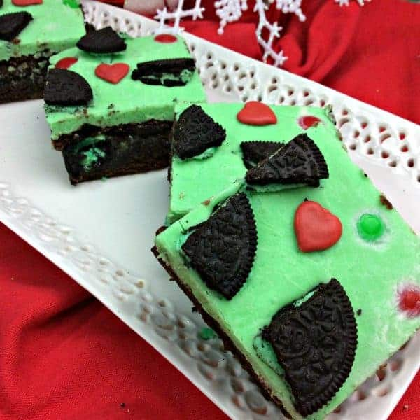Elf on the Shelf Grinch Brownies and Printable