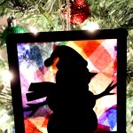 Stained Glass Ornament Craft for Kids