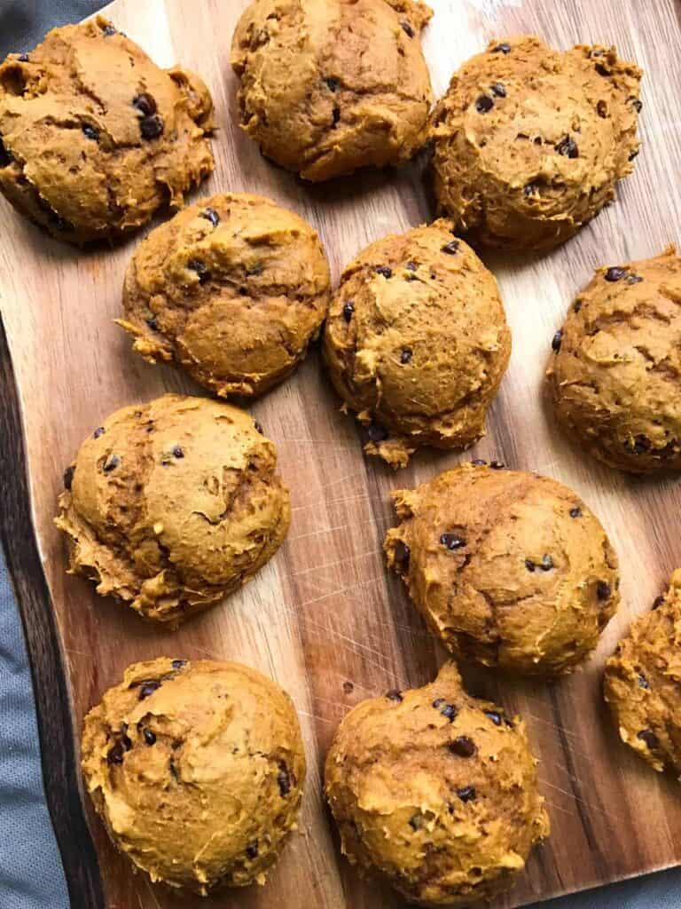 Worlds Easiest Pumpkin Cookies